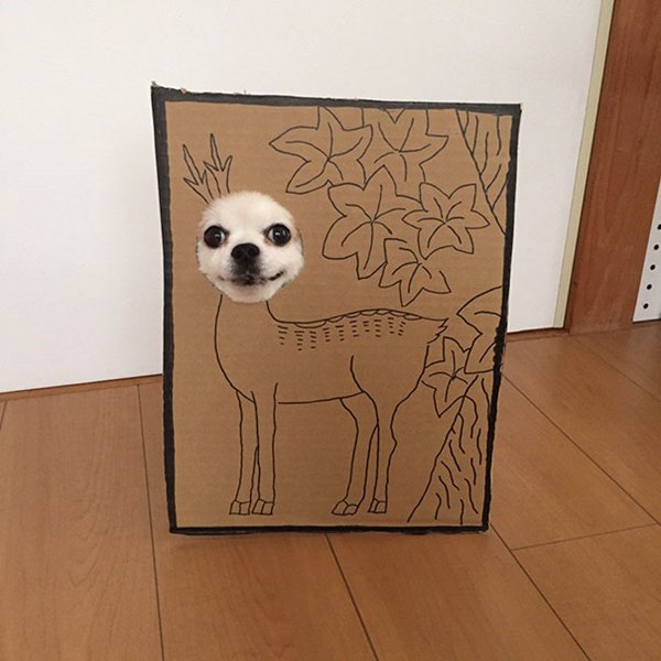 dog-costume-cardboard-cutouts-deer