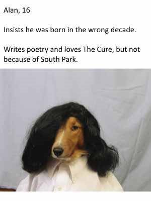 dogs-as-people-the-cure-goth-alan