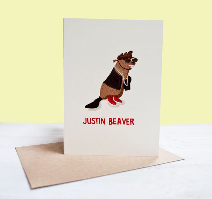 famous-people-animal-illustrations-justin-beaver