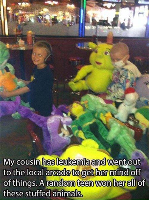 feel-good-photos-kid-with-lukemia-arcade