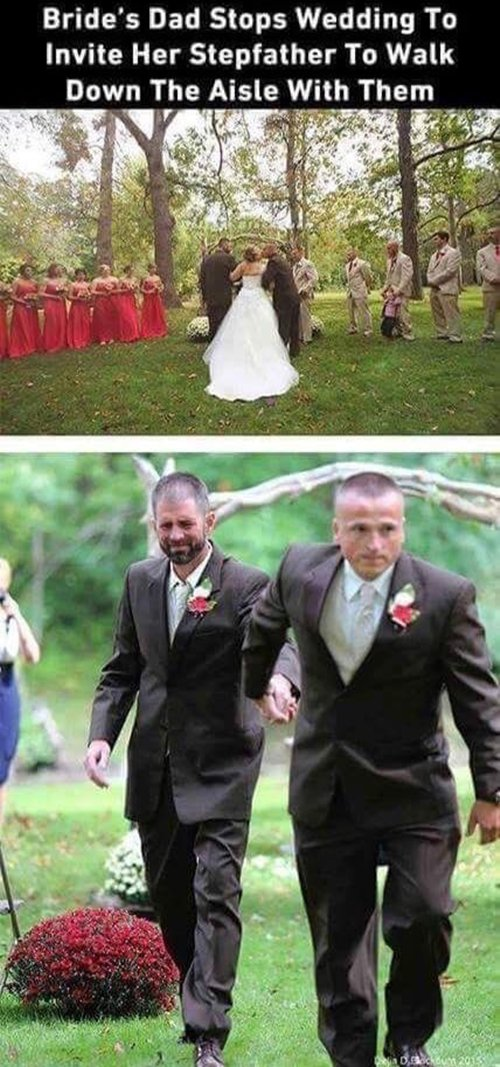 feel-good-photos-step-father-walk-down-aisle