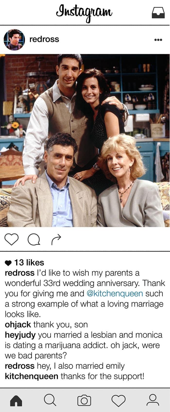 friends-ross-geller-instagram-parents