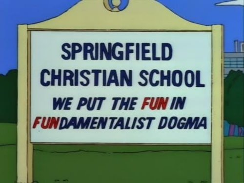 funny-simpsons-signs-fun-in-fundamentalist