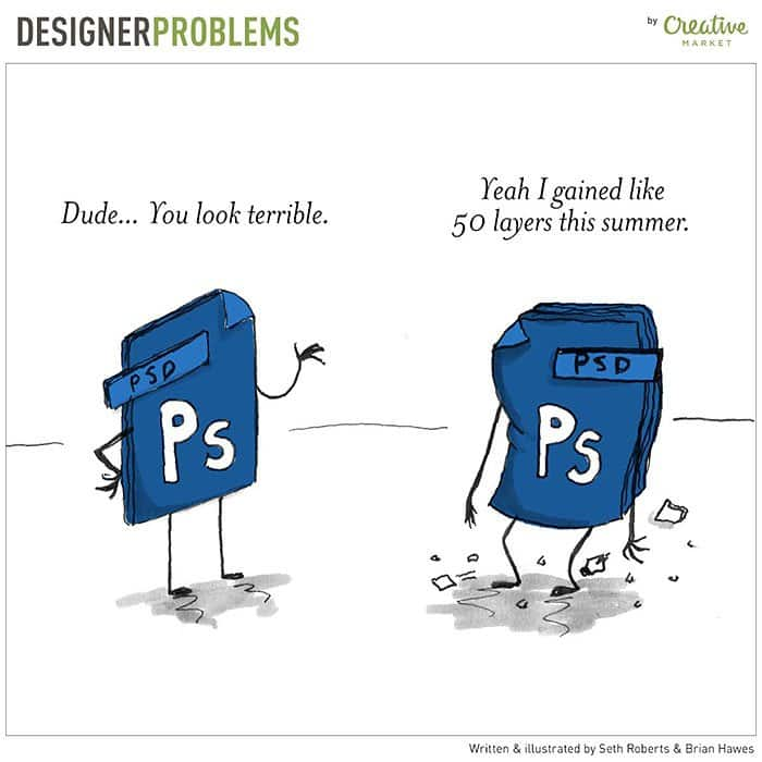 graphic-designer-problems-gained-50-layers