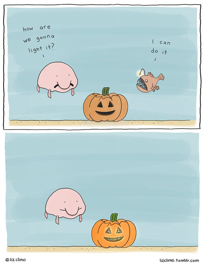 halloween-animal-comics-liz-climo-underwter-jack-o-lantern