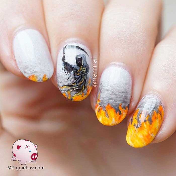 halloween-creepy-nail-art-reaper