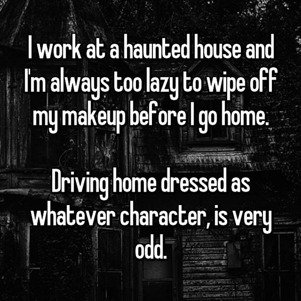 haunted-house-workers-scare-a-few-people-drive-home