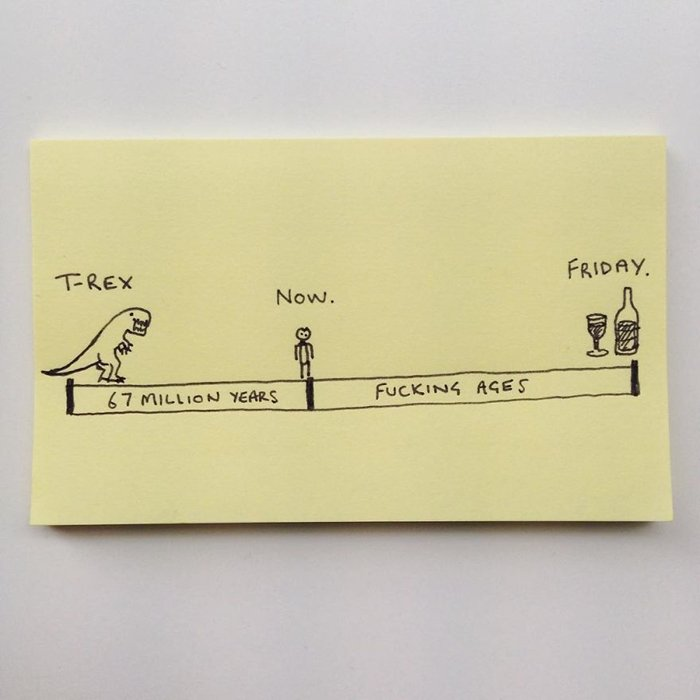 honest-sticky-notes-friday-seems-far-away