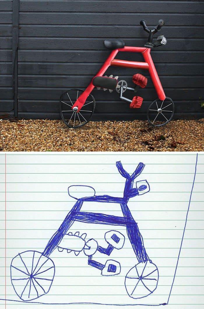 kid-drawings-realistic-bike