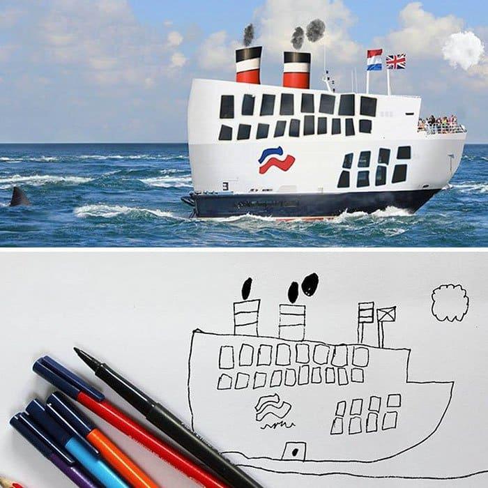 kid-drawings-realistic-boat