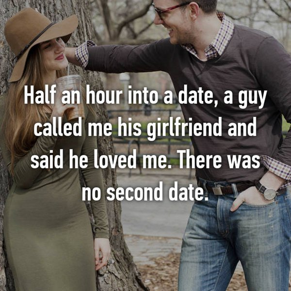 dating no second date