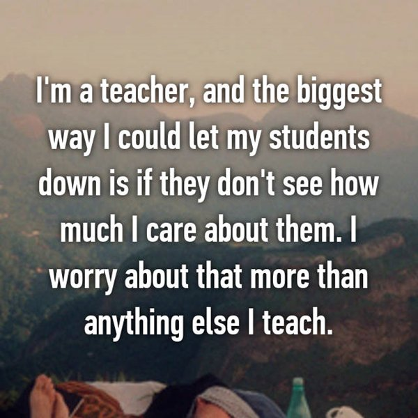 worst things about being a teacher