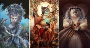 cats-portraits-historical-figures