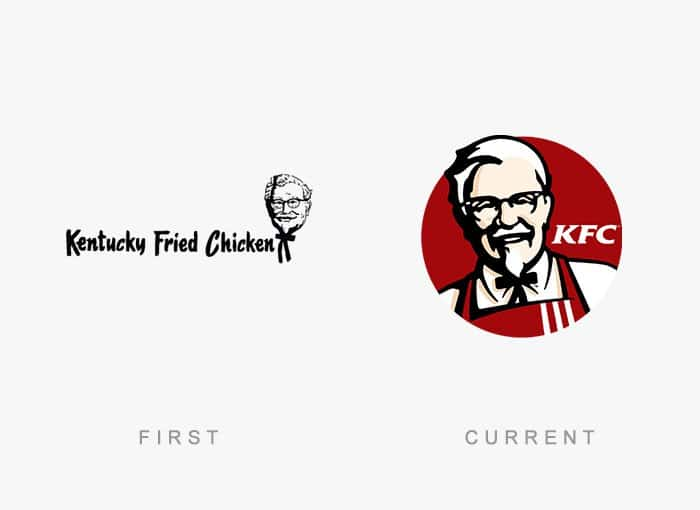 15 interesting old vs new images showing famous logos part 1