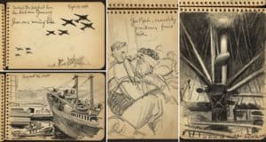 sketches-soldier-wwii