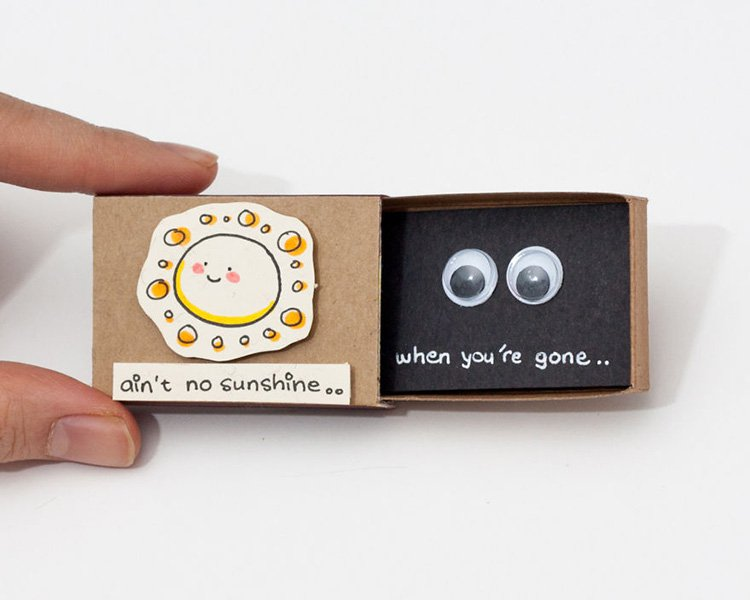 aint-no-sunshine-matchbox-greeting-card