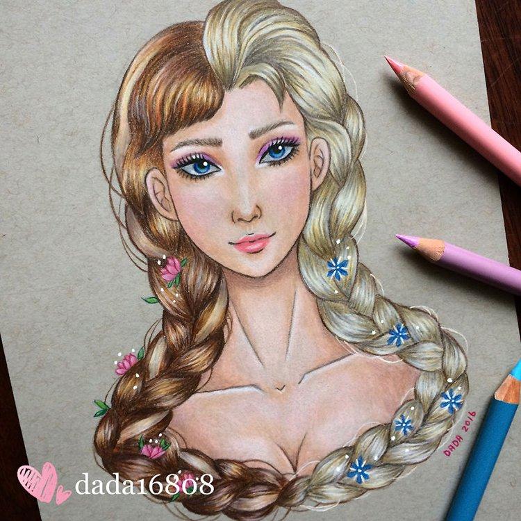 anna-vs-elsa-drawing