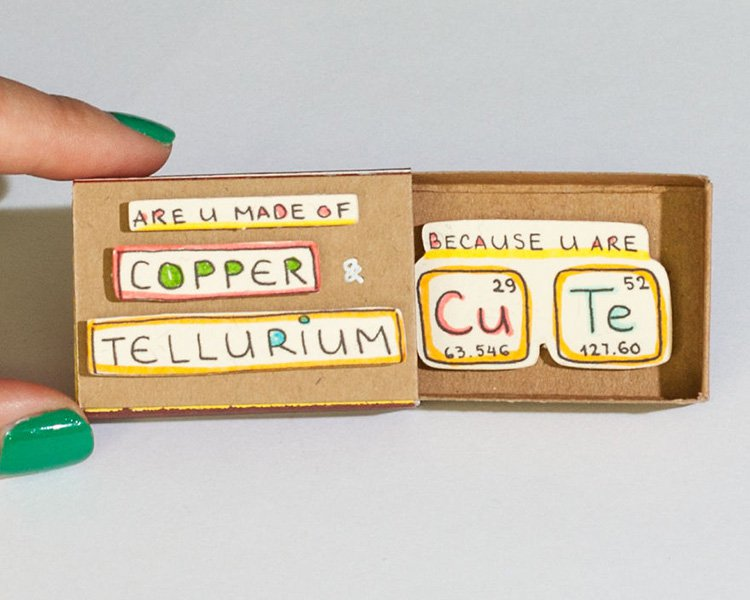 are-you-made-of-copper-matchbox-greeting-card