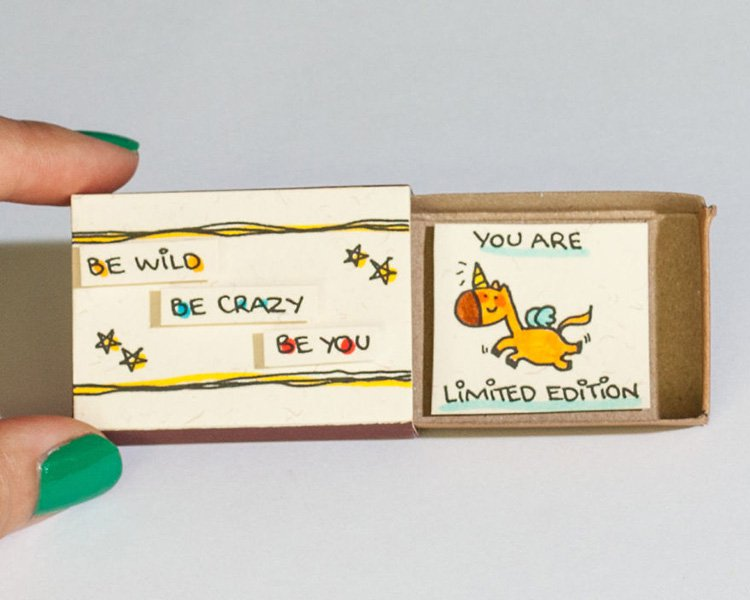 be-wild-be-crazy-be-you-matchbox-greeting-card