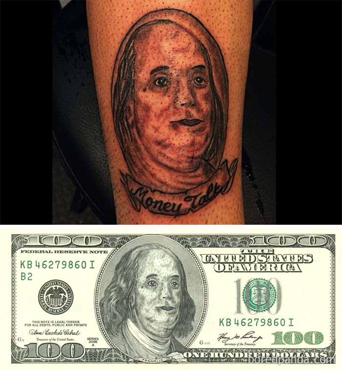 ben-franklin-tattoo-face-swap