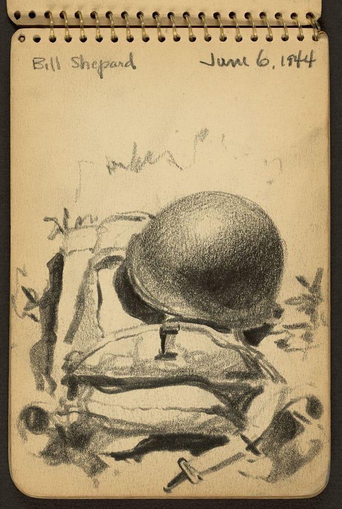 bill-shepard-from-behind-wwii-sketch