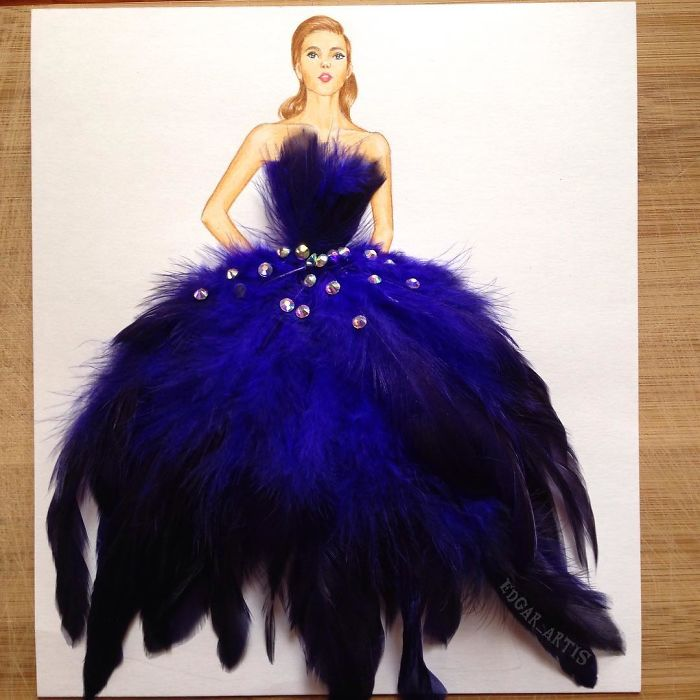 blue-feathers-dress-sketch