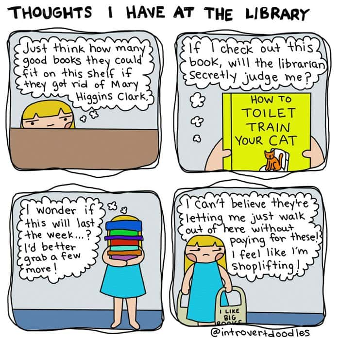 book-lover-comics-library-thoughts