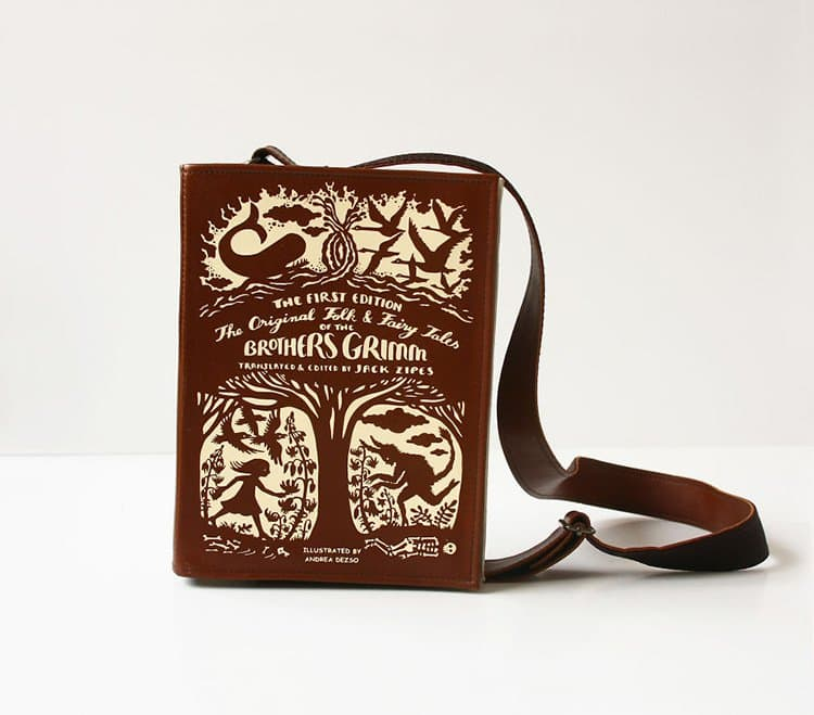 brothers-grimm-book-themed-bag