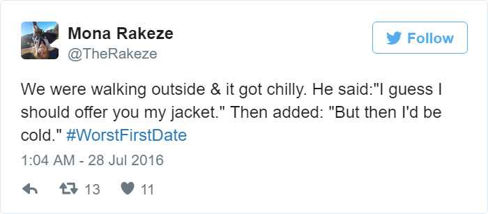 articles disaster first date tweets
