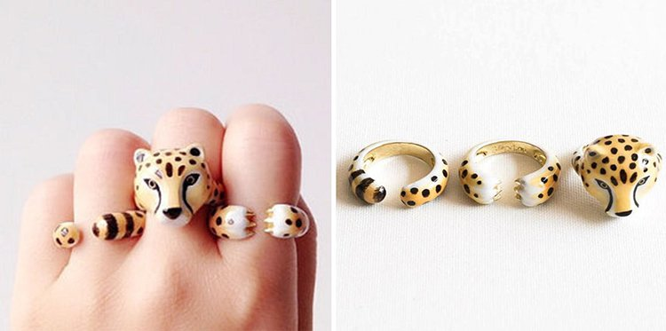 cheetah-animal-rings