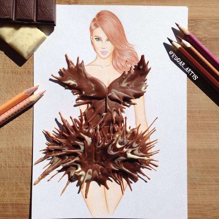 chocolate-dress-sketch