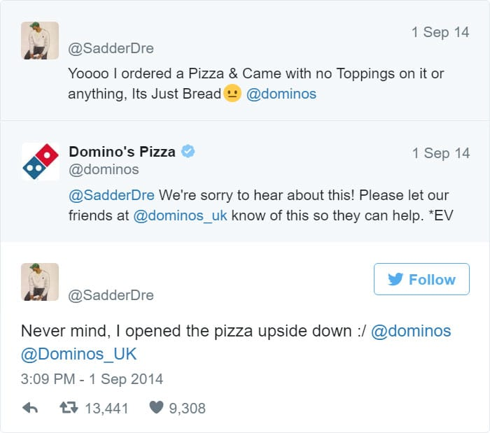 dominos-complaint-and-response