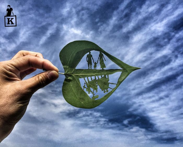 family-leaf-drawing