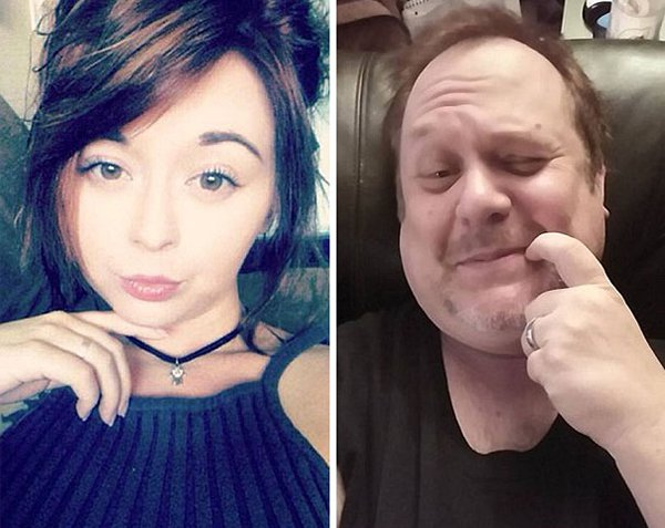 finger-by-mouth-dad-trolling-daughter-selfie