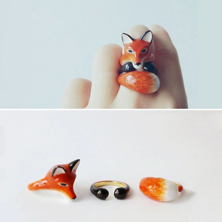 fox-animal-rings