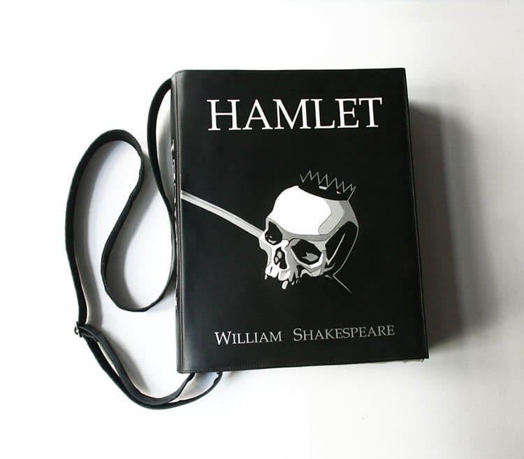 hamlet-book-themed-bag