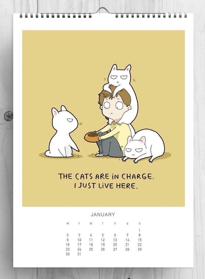 january-cat-calender-lingvistov