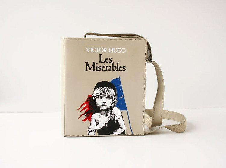 les-mis-book-themed-bag