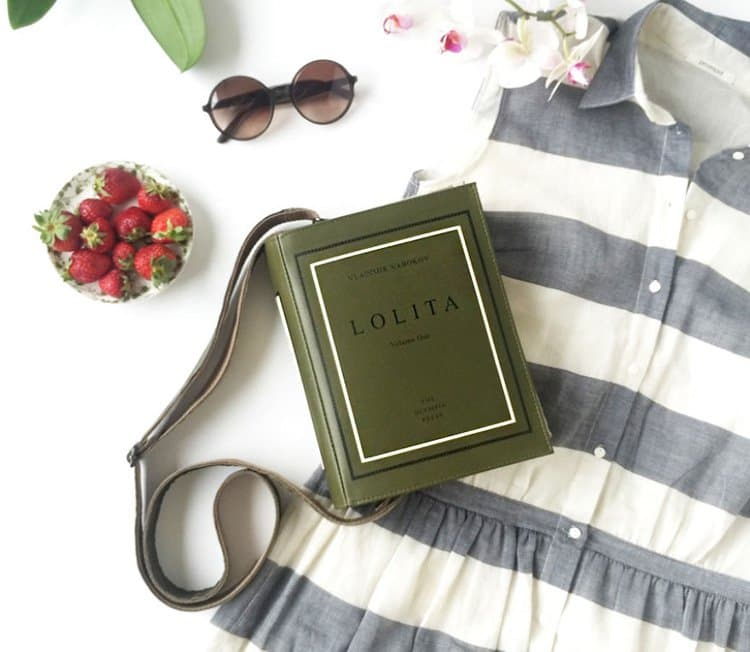 lolita-book-themed-bag
