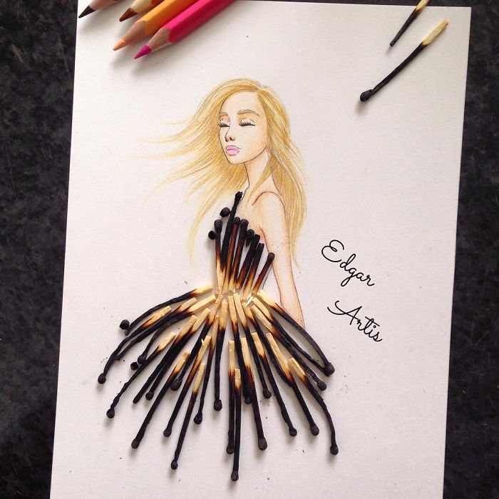 match-sticks-dress-sketch