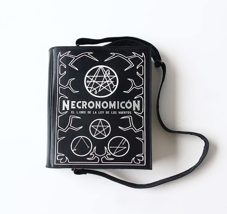 necronomicon-book-themed-bag