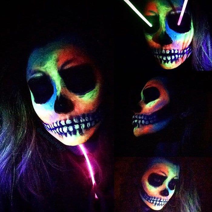 neon-rainbow-skull-saida-mickeviciute