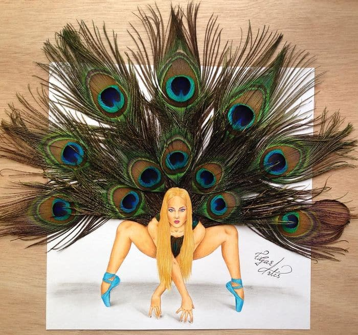 peacock-feathers-dress-sketch