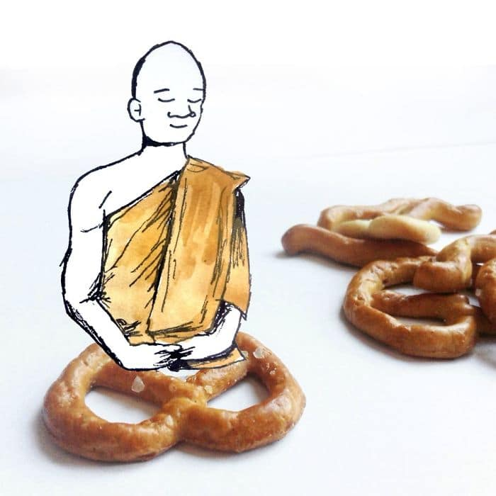 pretzel-meditation-illustration