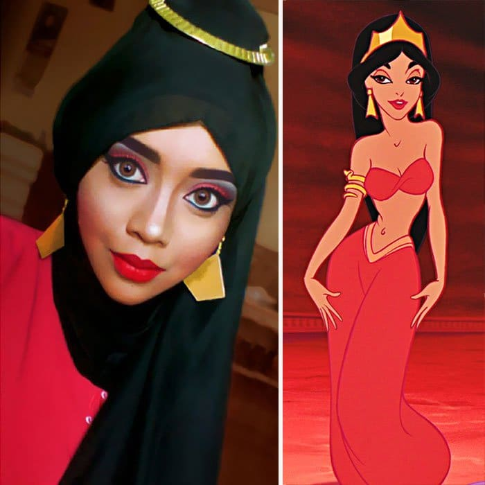 princess-jasmine-red-hijab-transformation