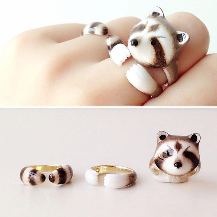 racoon-animal-rings