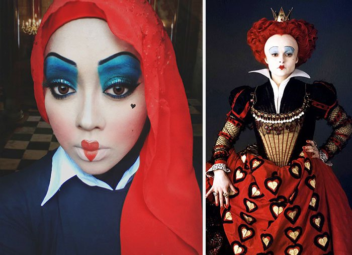 red-queen-hijab-transformation