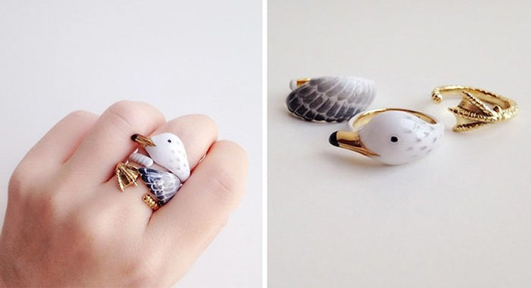 seagul-animal-rings