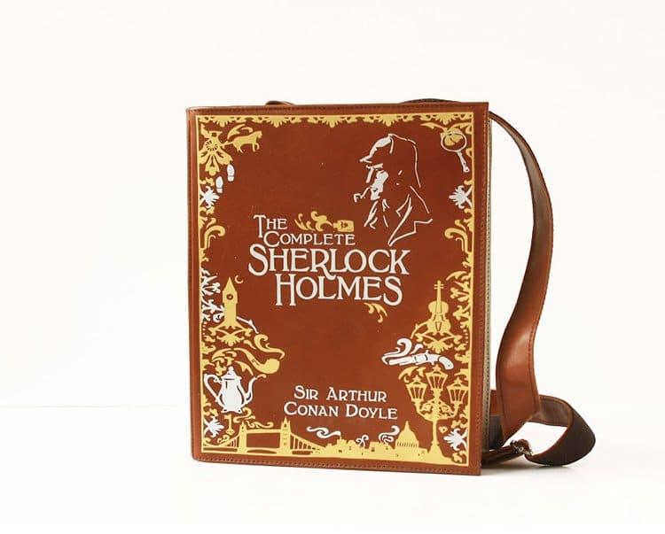sherlock-holmes-book-themed-bag