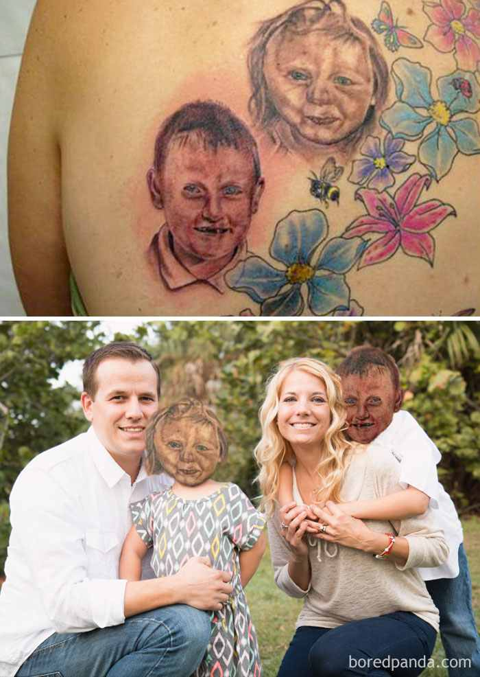 son-and-daughter-tattoo-face-swap